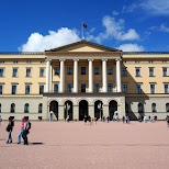 Royal Palace of Norway in Oslo in Oslo, Oslo, Norway