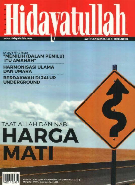 Hidayatullah Edisi Juni 2018