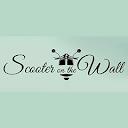 Scooter on the wall, SDA Market, New Delhi logo