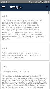NTS Quiz - náhled
