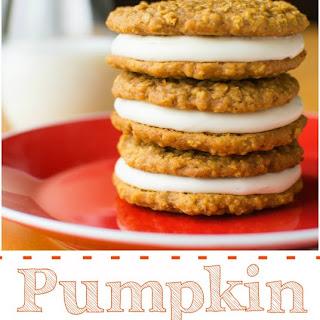Pumpkin Oatmeal Creme Pies