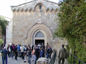 Photo: Chapel of Flagellation, a 1920s chapel on the site where Jesus was scourged.