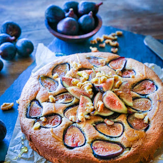 Almond Flour Honey Fig Cake (Paleo)