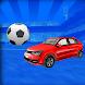 車のサッカーワールドカップ