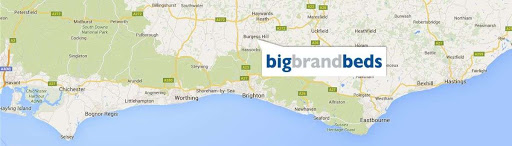 Big Brand Beds store location on map