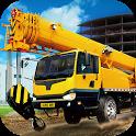 Utility construction machines icon