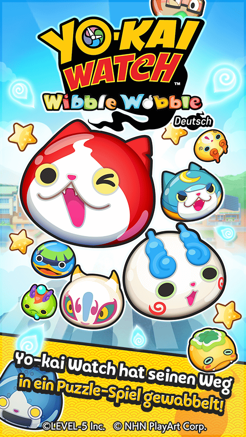 YO-KAI WATCH  Wibble Wobble – Screenshot