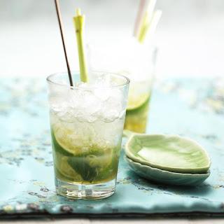 Lemongrass Caipirinha.