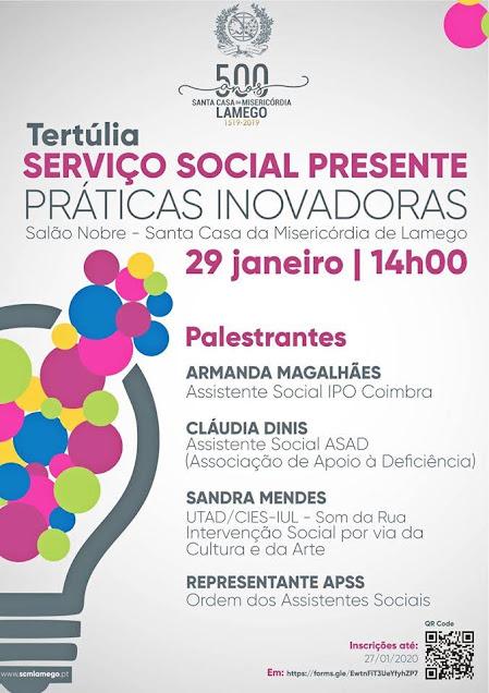 Misericórdia de Lamego promove seminário sobre práticas inovadoras no serviço social