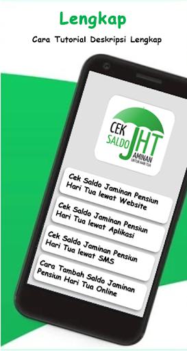 Updated Cara Cek Saldo Jht Jaminan Hari Tua Pc Android App Download 2021