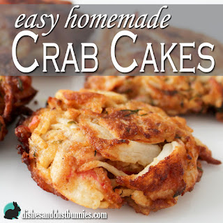 Easy Homemade Crab Cakes Recipe