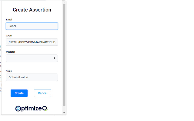 OptimizeQ Add Assertion