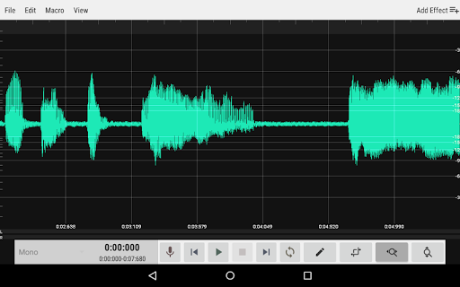 WaveEditor for Androidu2122 Audio Recorder & Editor 1.85 screenshots 9