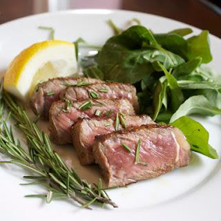 Steak Tagliata with Arugula