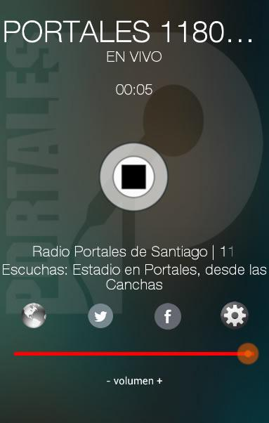 Portales 1180 AM- screenshot