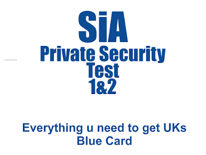 SIA FULL TEST Private Security - náhled