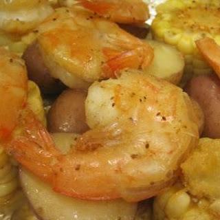 Shrimp and Vegetable Quiche.