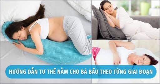 Mẹ bầu cần biết các tư thế nằm ngủ này để giữ an toàn cho thai nhi