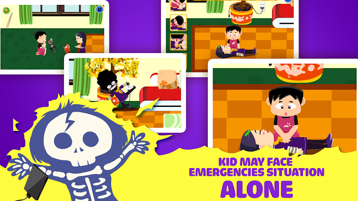 Safety for Kid - Fire Escape- screenshot thumbnail