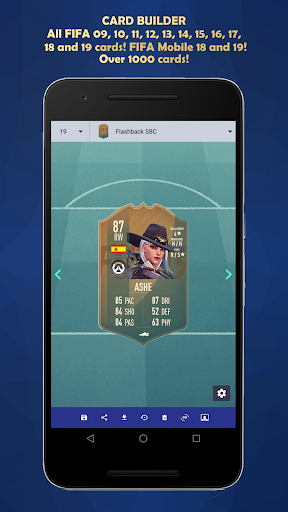 FUT Card Builder 20 5.3.9 screenshots 1