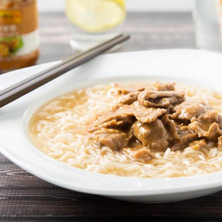 Hong Kong Style Beef Satay Noodle Soup Recipe