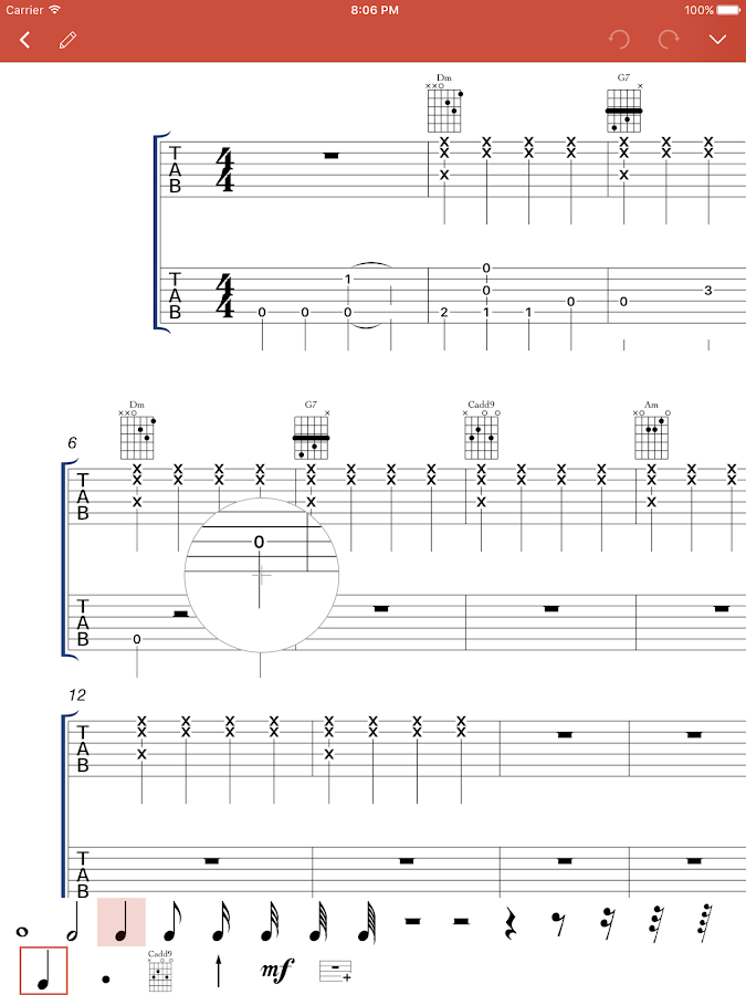 how to read tabs and chords