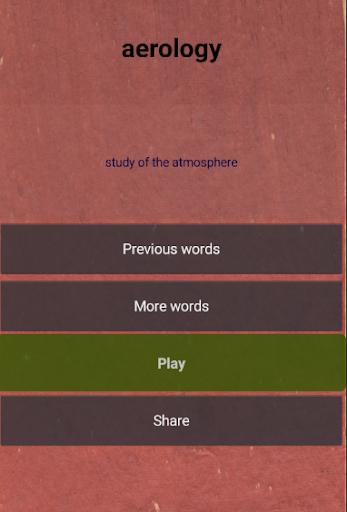 Quiz - unusual words  screenshots 1