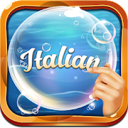Learn Italian Bubble Bath Game