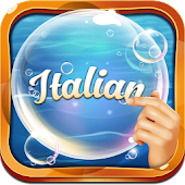 Learn Italian Bubble Bath Game