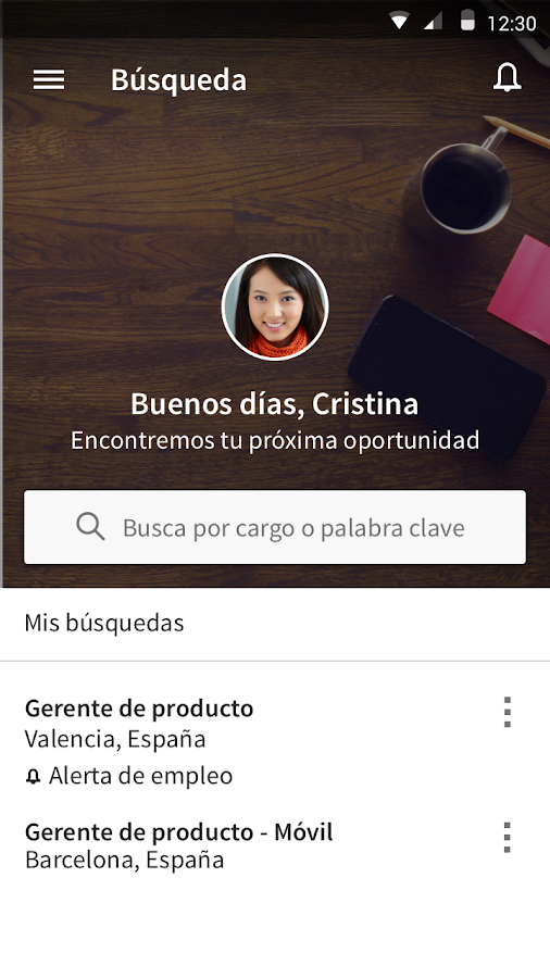 LinkedIn Job Search: captura de pantalla