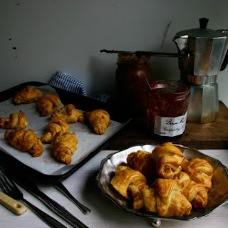Cheat Apple Cinnamon Croissants with Homemade Nutella Recipe