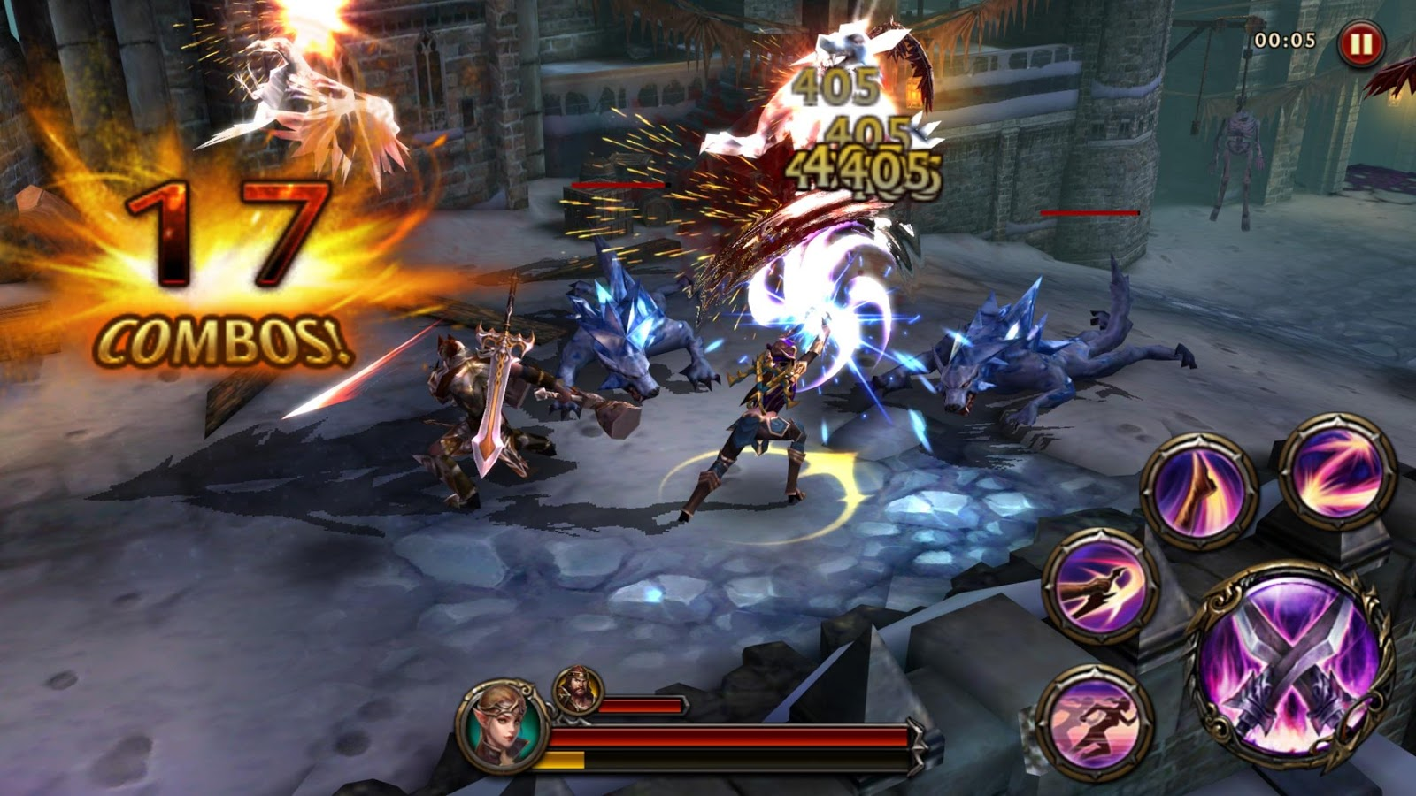 ETERNITY WARRIORS 4- screenshot