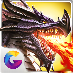 Raise & train an army of Dragons as you build an epic Kingdom to rule Atlantis! APK Icon