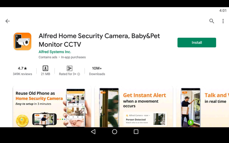 Security Camera App 1