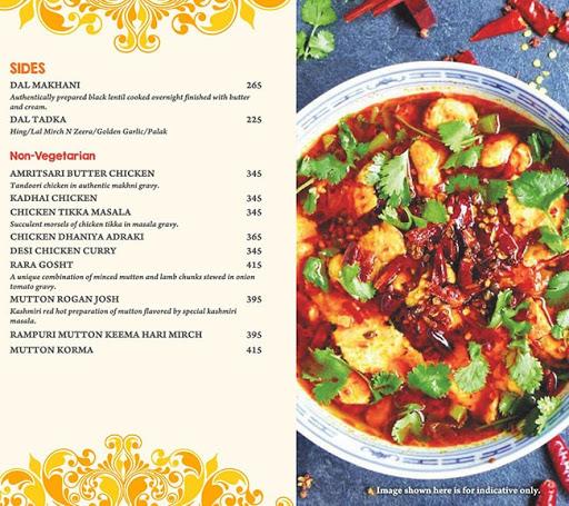 Masala Asia menu 3