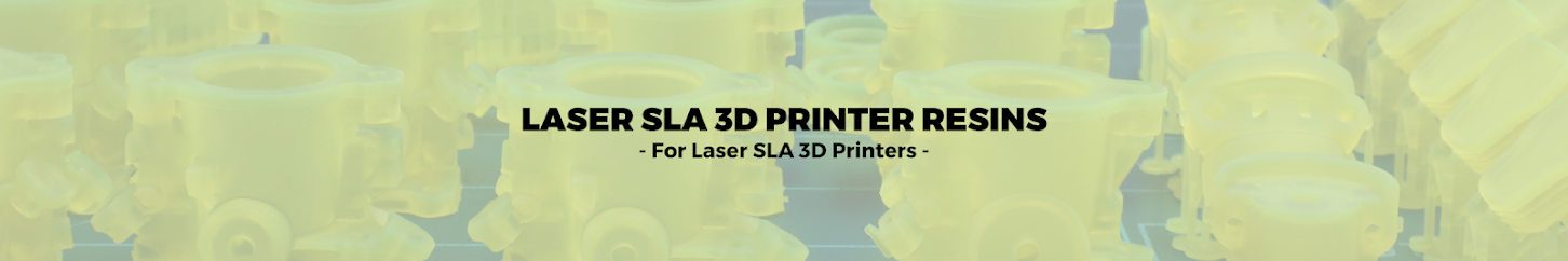 Laser SLA 3D Printer Resins