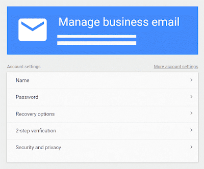 Business email hub