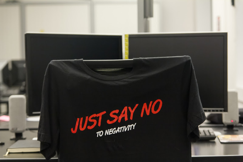 Photo: #2012project52 [9/52 - In the workplace] Just say no to negativity