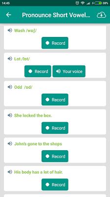 English Pronunciation Yobimi - screenshot