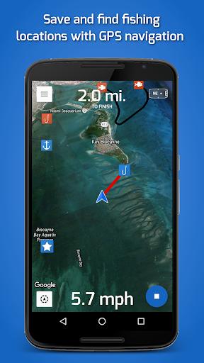 приложение рыбацкие точки для ios