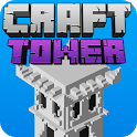 Craft Tower -  Stacking Blocks Building Tower Game icon