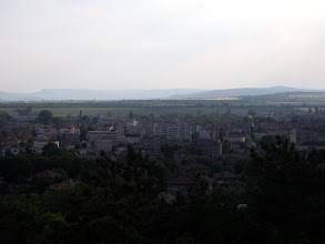 Photo: Pavlikeni from the hilltop