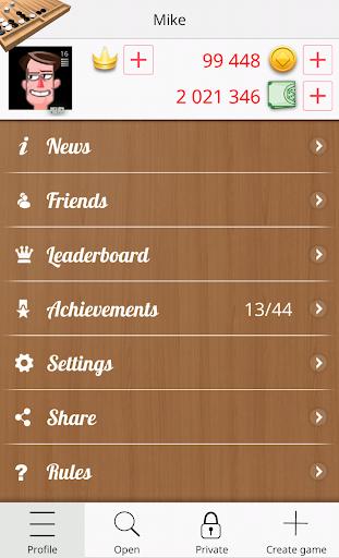 Backgammon Online 1.2.2 screenshots 5