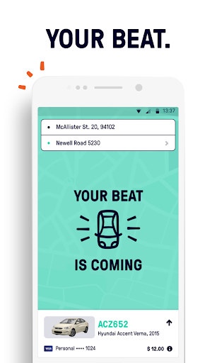 Beat - Ride app  screenshots 3