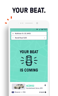 Beat - Ride app- screenshot thumbnail