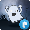 Little Ghosts Launcher Theme icon