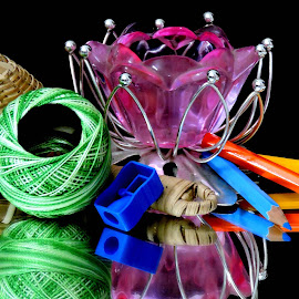 MIXED COLOURS by SANGEETA MENA  - Artistic Objects Other Objects