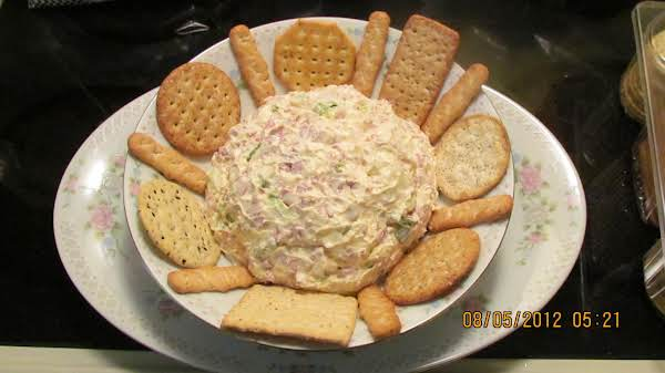 This Is A Picture Of The Cheese Spread. Oh, Is It Ever Good!! My Hubby Loves It...well, And So Do I. 8/05/12