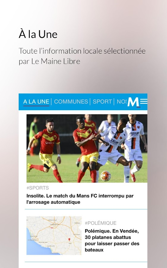 Le Maine Libre- screenshot