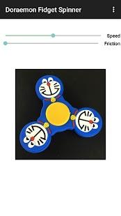 Doraemon Fidget Spinner - náhled